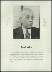 Page 6, 1955 Edition, Frederick Douglass High School - Survey Yearbook (Baltimore, MD) online yearbook collection