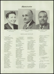 Page 7, 1955 Edition, Frederick Douglass High School - Survey Yearbook (Baltimore, MD) online yearbook collection