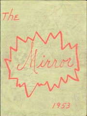 Fredericktown High School - Mirror Yearbook (Fredericktown, OH) online yearbook collection, 1953 Edition, Cover