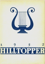 Fredonia High School - Hilltopper Yearbook (Fredonia, NY) online yearbook collection, 1952 Edition, Cover