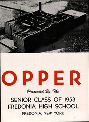 Page 7, 1953 Edition, Fredonia High School - Hilltopper Yearbook (Fredonia, NY) online yearbook collection