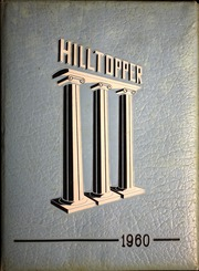 Fredonia High School - Hilltopper Yearbook (Fredonia, NY) online yearbook collection, 1960 Edition, Cover