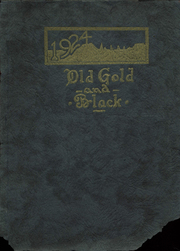 Fredonia High School - Yellowjacket Yearbook (Fredonia, KS) online yearbook collection, 1924 Edition, Cover