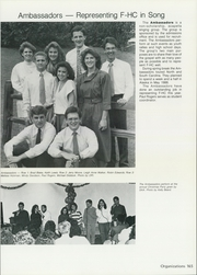 Freed Hardeman University - Treasure Chest Yearbook (Henderson, TN) online yearbook collection, 1988 Edition, Page 169 of 246