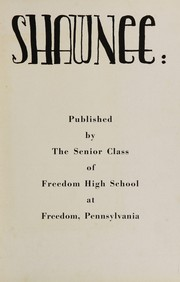 Page 7, 1944 Edition, Freedom Area High School - Shawnee Yearbook (Freedom, PA) online yearbook collection