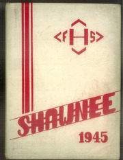 Freedom Area High School - Shawnee Yearbook (Freedom, PA) online yearbook collection, 1945 Edition, Cover
