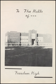 Page 7, 1952 Edition, Freedom High School - Eagle Yearbook (Freedom, OK) online yearbook collection