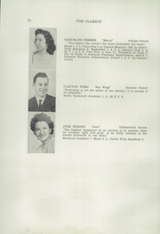 Page 14, 1946 Edition, Freeport High School - Clarion Yearbook (Freeport, ME) online yearbook collection
