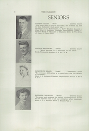 Page 8, 1946 Edition, Freeport High School - Clarion Yearbook (Freeport, ME) online yearbook collection