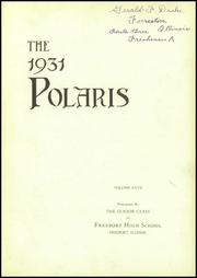 Page 7, 1931 Edition, Freeport High School - Polaris Yearbook (Freeport, IL) online yearbook collection