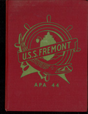 Fremont (APA 44) - Naval Cruise Book online yearbook collection, 1957 Edition, Cover