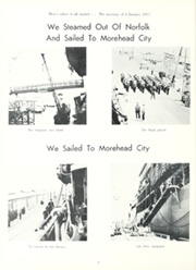 Page 10, 1957 Edition, Fremont (APA 44) - Naval Cruise Book online yearbook collection