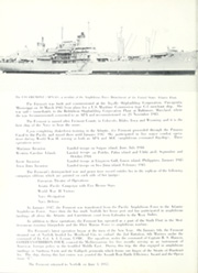 Page 8, 1957 Edition, Fremont (APA 44) - Naval Cruise Book online yearbook collection