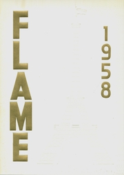 Fremont High School - Flame Yearbook (Oakland, CA) online yearbook collection, 1958 Edition, Cover