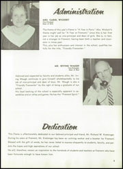 Page 9, 1958 Edition, Fremont High School - Flame Yearbook (Oakland, CA) online yearbook collection