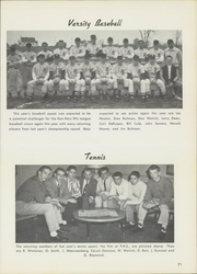 Fremont High School - Mogul Yearbook (Fremont, MI) online yearbook collection, 1957 Edition, Page 75 of 132