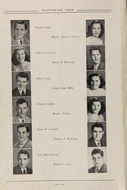 Page 16, 1949 Edition, French Lick High School - Plutocraft Yearbook (French Lick, IN) online yearbook collection