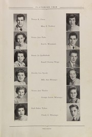 Page 17, 1949 Edition, French Lick High School - Plutocraft Yearbook (French Lick, IN) online yearbook collection