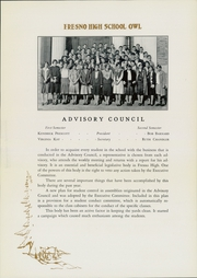 Page 17, 1930 Edition, Fresno High School - Owl Yearbook (Fresno, CA) online yearbook collection