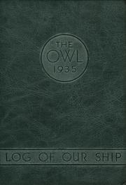Fresno High School - Owl Yearbook (Fresno, CA) online yearbook collection, 1935 Edition, Cover