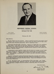 Page 13, 1951 Edition, Frewsburg Central School - Senior Leaves Yearbook (Frewsburg, NY) online yearbook collection