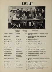 Page 14, 1951 Edition, Frewsburg Central School - Senior Leaves Yearbook (Frewsburg, NY) online yearbook collection