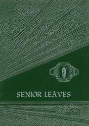 Frewsburg Central School - Senior Leaves Yearbook (Frewsburg, NY) online yearbook collection, 1959 Edition, Cover