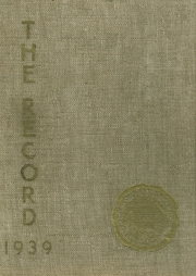 Friends Select School - Record Yearbook (Philadelphia, PA) online yearbook collection, 1939 Edition, Cover
