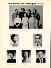 Friends University - Talisman Yearbook (Wichita, KS) online yearbook collection, 1959 Edition, Page 62 of 164