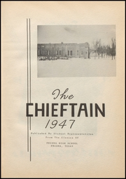 Page 7, 1947 Edition, Friona High School - Chieftain Yearbook (Friona, TX) online yearbook collection