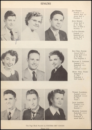 Page 16, 1950 Edition, Friona High School - Chieftain Yearbook (Friona, TX) online yearbook collection