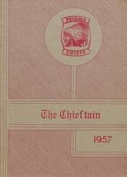 Friona High School - Chieftain Yearbook (Friona, TX) online yearbook collection, 1957 Edition, Cover