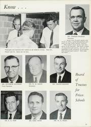Page 11, 1968 Edition, Frisco High School - Coonskin Yearbook (Frisco, TX) online yearbook collection