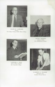 Page 10, 1955 Edition, Fryeburg Academy - Academy Bell Yearbook (Fryeburg, ME) online yearbook collection