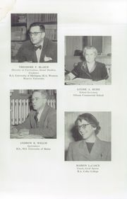 Page 13, 1955 Edition, Fryeburg Academy - Academy Bell Yearbook (Fryeburg, ME) online yearbook collection