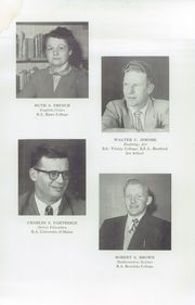 Page 15, 1955 Edition, Fryeburg Academy - Academy Bell Yearbook (Fryeburg, ME) online yearbook collection