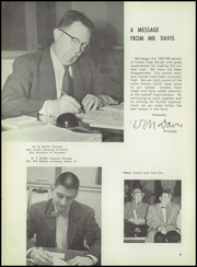 Fulton High School - Falcon Yearbook (Knoxville, TN) online yearbook collection, 1958 Edition, Page 8 of 168