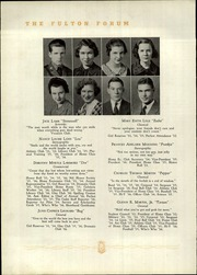 Fulton High School - Forum Yearbook (Atlanta, GA) online yearbook collection, 1936 Edition, Page 36