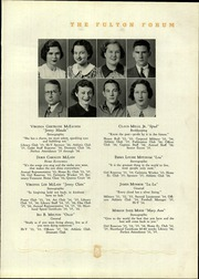 Fulton High School - Forum Yearbook (Atlanta, GA) online yearbook collection, 1936 Edition, Page 37 of 132