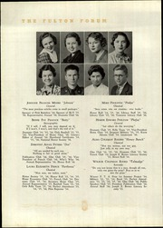 Fulton High School - Forum Yearbook (Atlanta, GA) online yearbook collection, 1936 Edition, Page 38