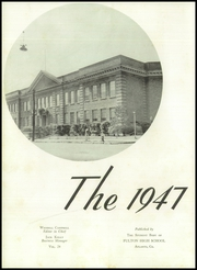 Page 6, 1947 Edition, Fulton High School - Forum Yearbook (Atlanta, GA) online yearbook collection