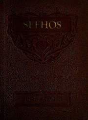 Fulton High School - Sefhos Yearbook (Fulton, IN) online yearbook collection, 1949 Edition, Cover