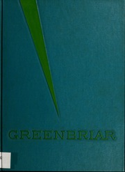 Fuquay Springs High School - Greenbriar Yearbook (Fuquay Springs, NC) online yearbook collection, 1964 Edition, Cover