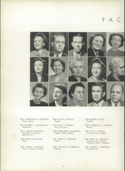 Page 14, 1952 Edition, Gaffney High School - Cherokeean Yearbook (Gaffney, SC) online yearbook collection