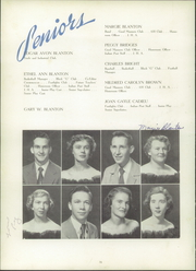 Gaffney High School - Cherokeean Yearbook (Gaffney, SC) online yearbook collection, 1952 Edition, Page 20