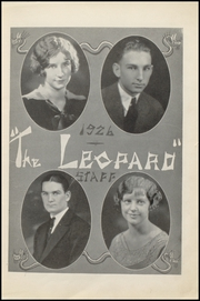 Gainesville High School - Leopard Yearbook (Gainesville, TX) online yearbook collection, 1926 Edition, Page 7