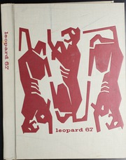 Gainesville High School - Leopard Yearbook (Gainesville, TX) online yearbook collection, 1967 Edition, Cover