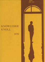 Galax High School - Knowledge Knoll Yearbook (Galax, VA) online yearbook collection, 1970 Edition, Cover