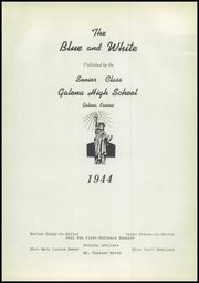 Page 7, 1944 Edition, Galena High School - Blue and White Yearbook (Galena, KS) online yearbook collection
