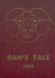 Galesburg Augusta High School - Rambler Yearbook (Galesburg, MI) online yearbook collection, 1954 Edition, Cover